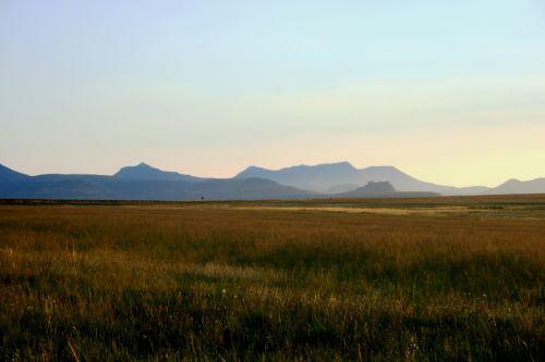 Wide Landscape, Free State, Sa