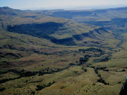 Wide Valley, Drakensberg Mountains