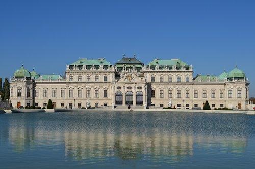 wien  palace  belvedere