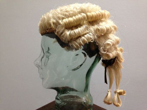 wig lawyer's legal