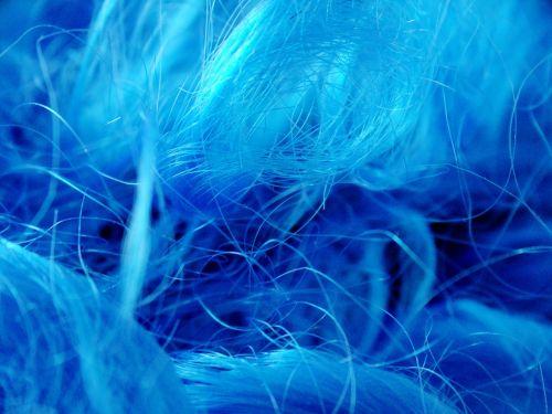 wig hair blue