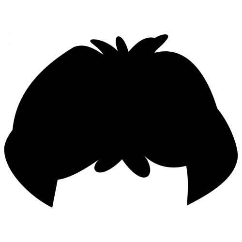 Wig Silhouette