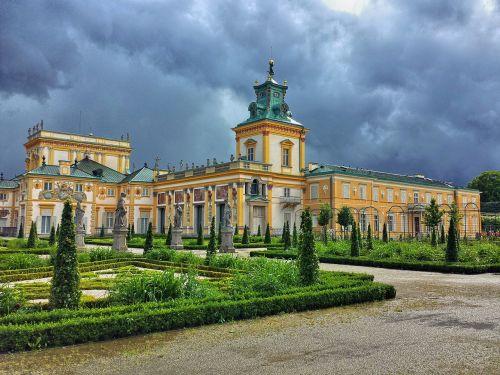 wilanów the palace warsaw