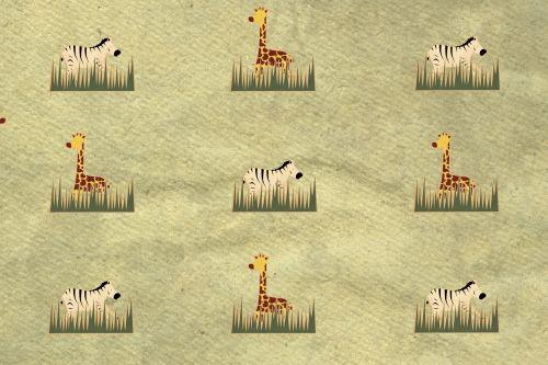 žirafos, zebras, laukiniai & nbsp, gyvūnai, džiunglės, gamta, gyvūnai, fonas, tapetai, Laukiniai gyvūnai