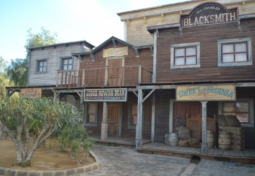 Wild West Town Blacksmith