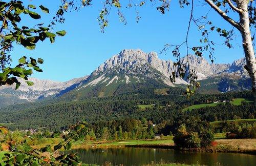 wilderkaiser  tyrol  alpine