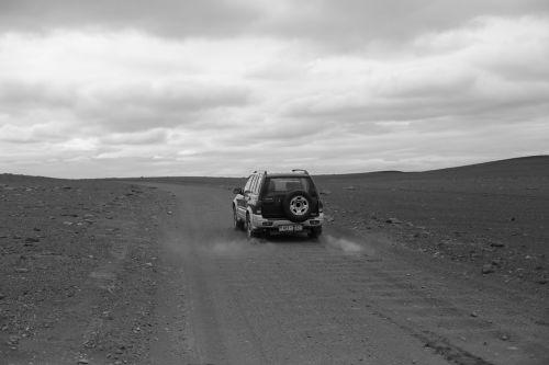 dykuma,pilka dulkių,visureigė transporto priemonė,iceland