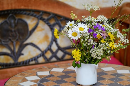 wildflowers  bouquet  dreamy