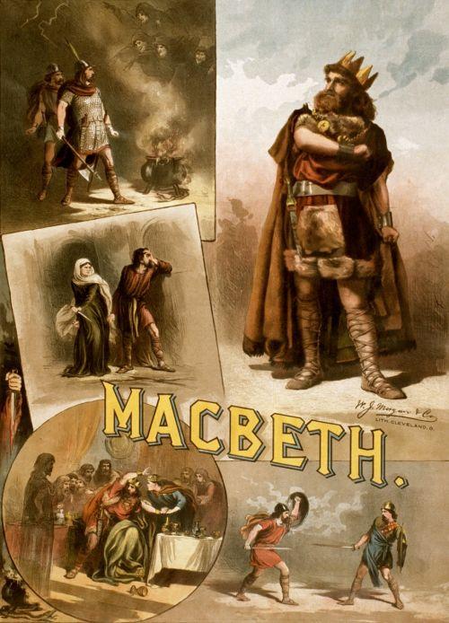 william shakespeare macbeth poster