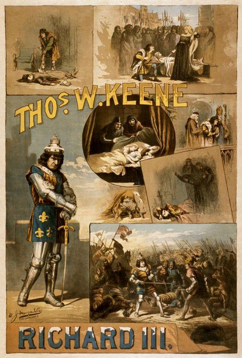 william shakespeare richard iii poster