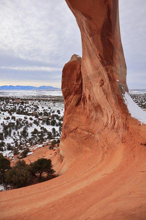 wilson's arch  moab  utah