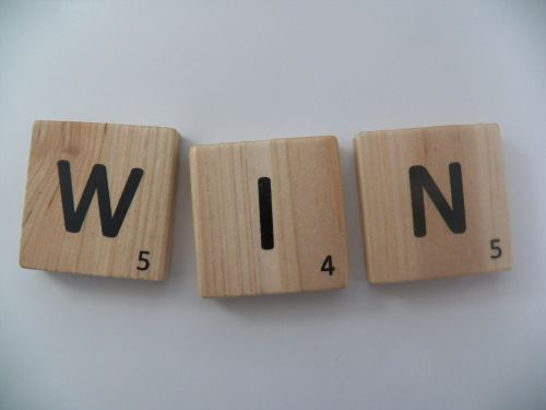 win letters word