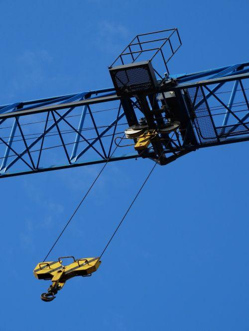 winch crane load crane