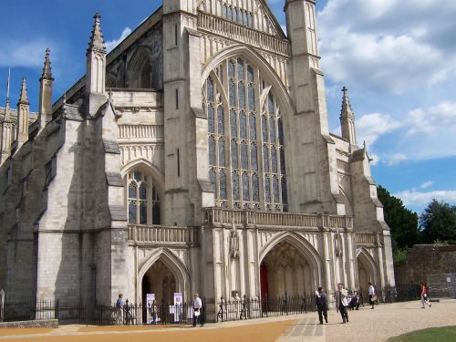 winchester cathedral hampshire gothic