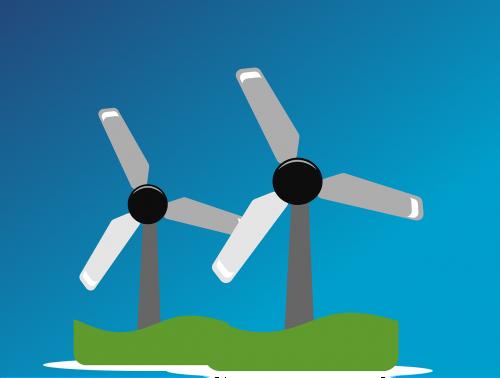 wind farm windpower wind park