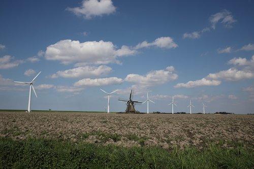 wind mill  turbine  electricity
