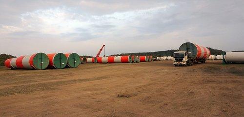 wind mill  turbine  rolling stock