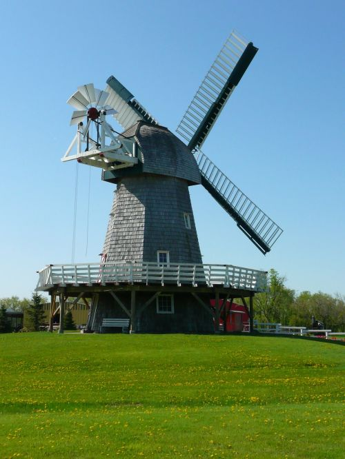 wind mill steinbach mennonite heritage village
