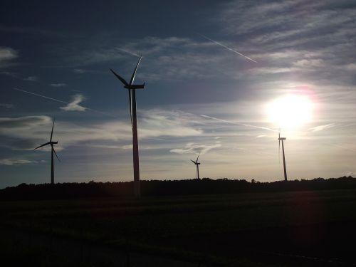 wind power wind energy sky
