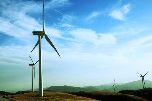 wind power generator daegwallyeong windmill