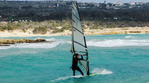 wind surfing sport extreme