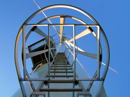 wind turbine large head