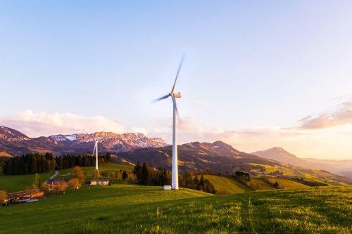 wind turbine pinwheel wind energy