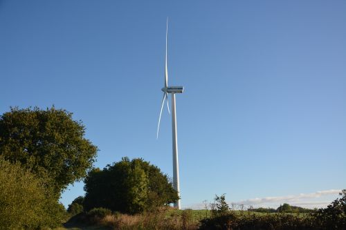 wind turbine landscape renewable energy