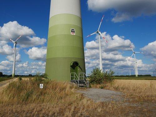 wind turbine  wind energy  wind farm