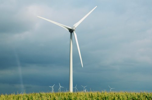 wind turbine  wind  energy