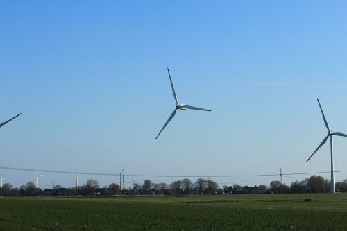 wind turbines wind energy wind power