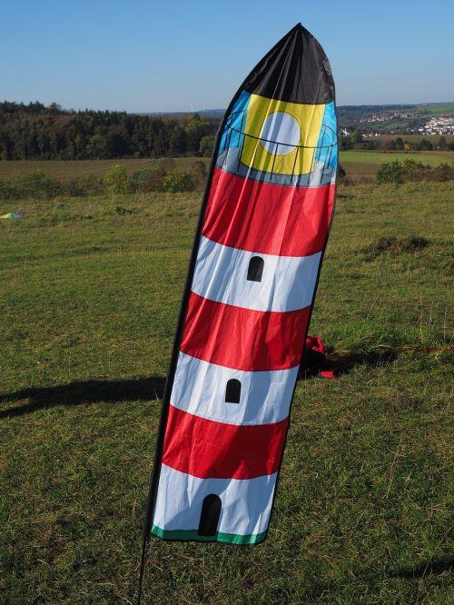 wind vane flag lighthouse