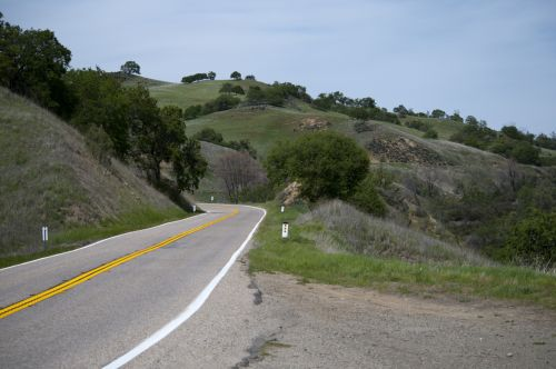 Winding Country Highway