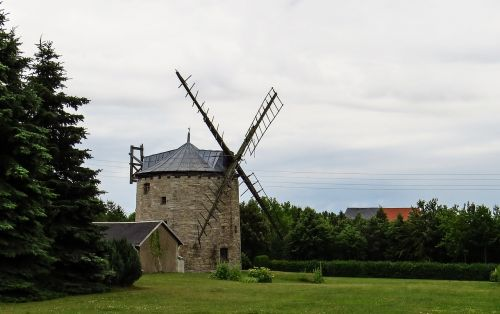 windmill old antique