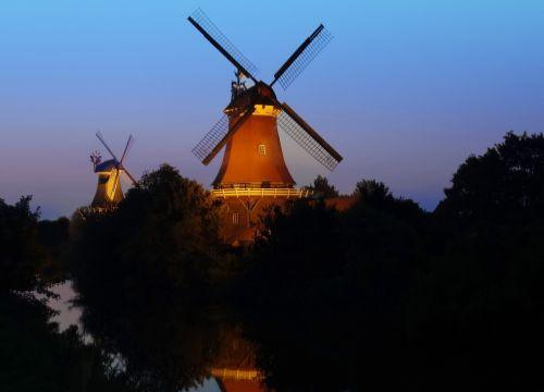 windmill greetsiel east frisia