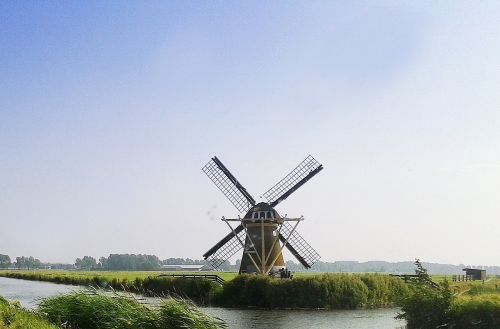 windmill holland channel