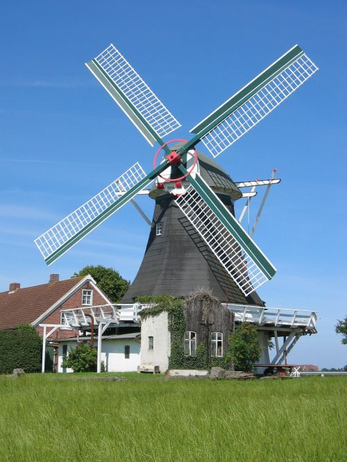 windmill north sea building