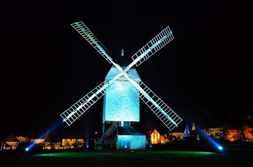 windmill lighting historically