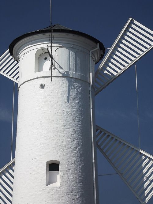windmill sea polish coast