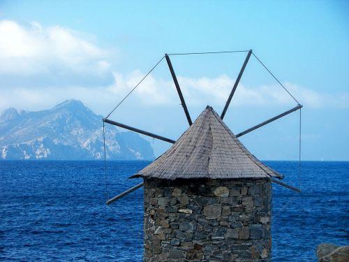 windmill amorgos cyclades
