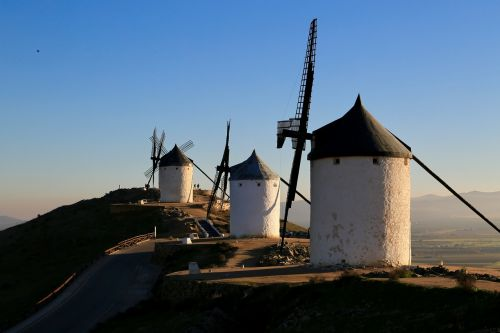 windmill don quixote spain