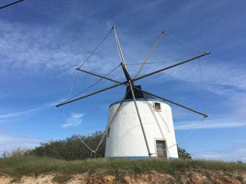 windmill portugal coastal path