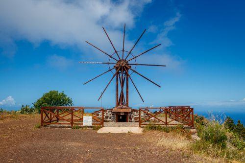 windmill canary islands la palma