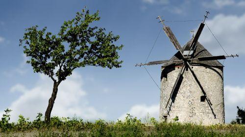windmill mill old windmill