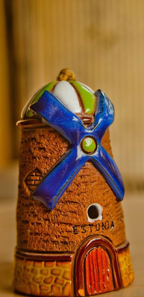 windmill toy ceramics