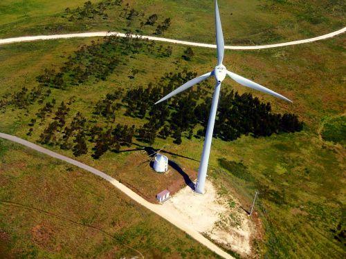 windmill mills aerial view