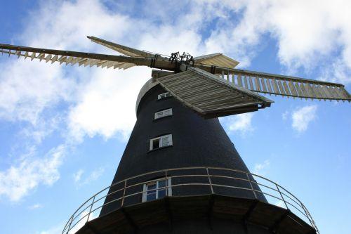 windmill sail wind