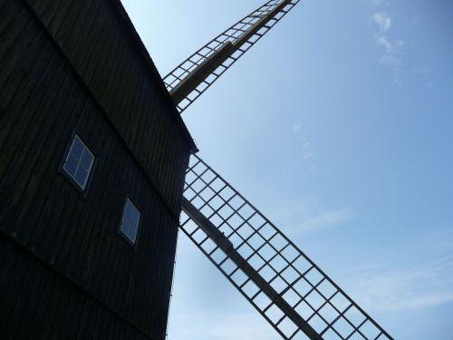 windmill building mill