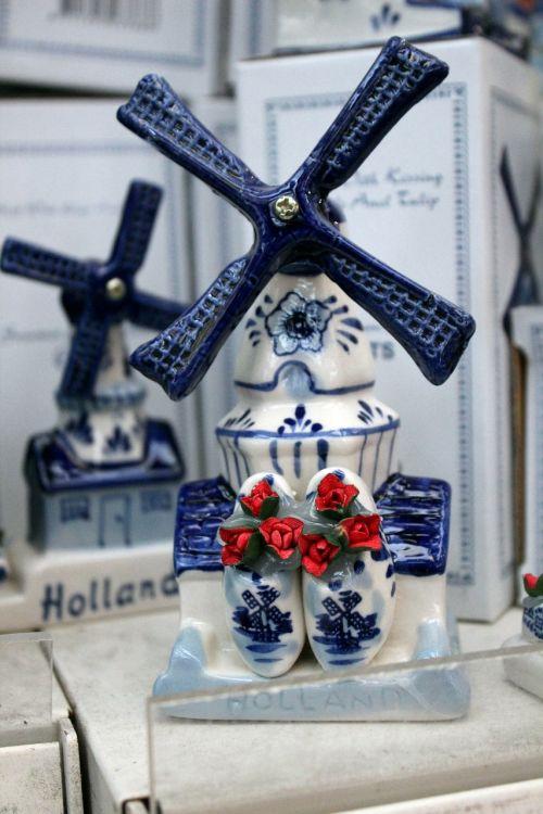 windmill amsterdam holland