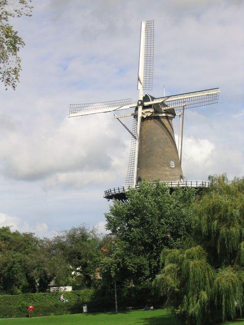 windmill netherlands holland